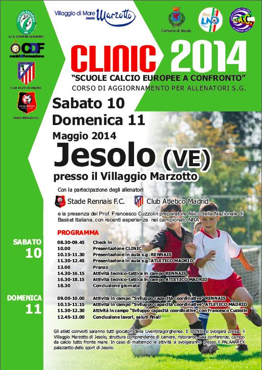 clinic calcio 2014